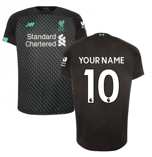 Maillot de football Liverpool FC Third 2019-2020 (Votre Nom)