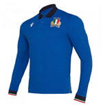 Maillot Manches Longues Italie rugby Home 2019-2020