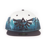 Casquette NINTENDO Legend of Zelda Embroidered Hyrule Green Forrest Sublimation, Unisexe