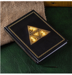 The Legend of Zelda cahier lumineux Triforce