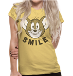 T-shirt Tom And Jerry: Smile (Unisexe)