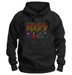 Sweat-shirt Kiss unisexe: Logo, Faces & Icons