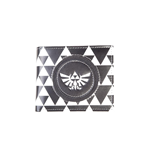 The Legend of Zelda porte-monnaie Triforce Black & White