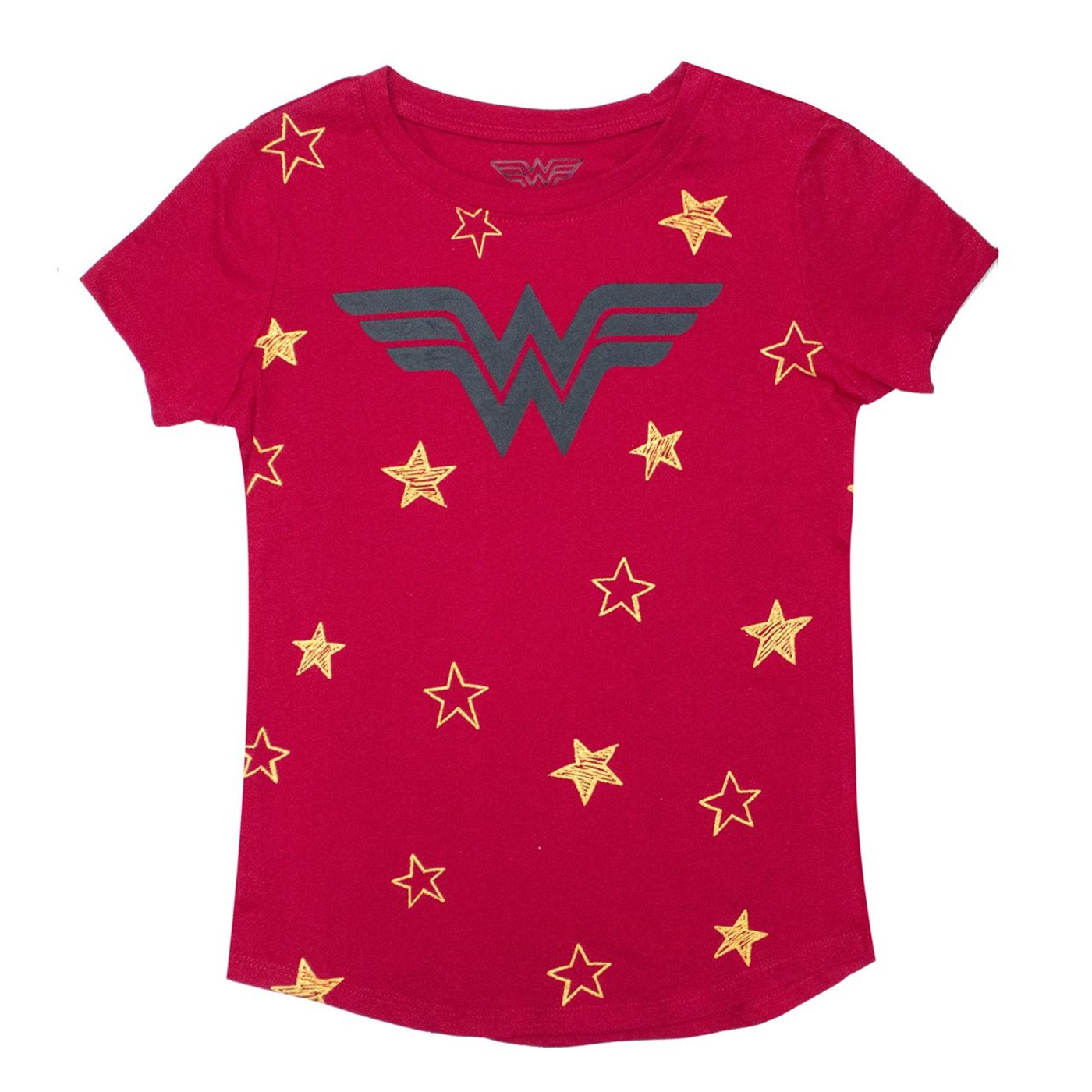 T-shirt Wonder Woman Stars DC