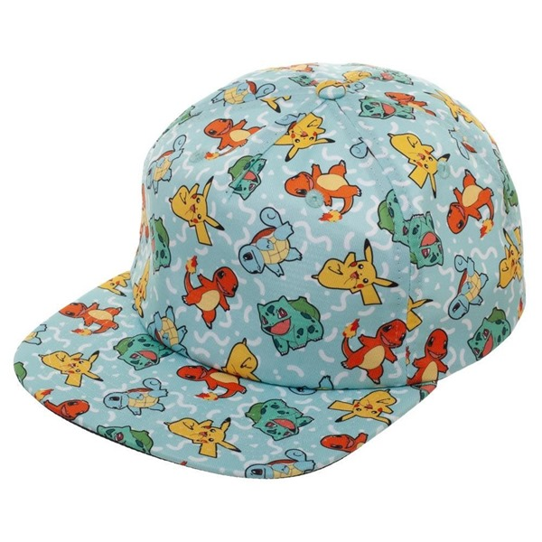 Casquette Pokémon - All Over Character