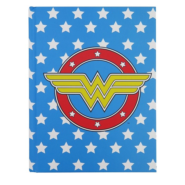 Journal Intime Wonder Woman - Logo and Stars