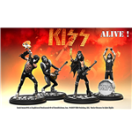 Statue Rock Iconz Kiss Alive Set (4)