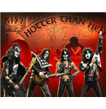 Statue Rock Iconz Kiss Hotter Than Hell Set (4)