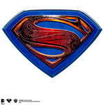Superman Man Of Steel Wall Plaque