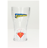 Verres Superman Spinning Logo Soda Glass
