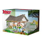 Diorama Asterix Obelix House With Figure Box Set
