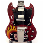Mini Guitar Ac / Dc Tribute Angus Young