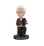 Figurine Sur Socle Albert Einstein Violin Bobblehead