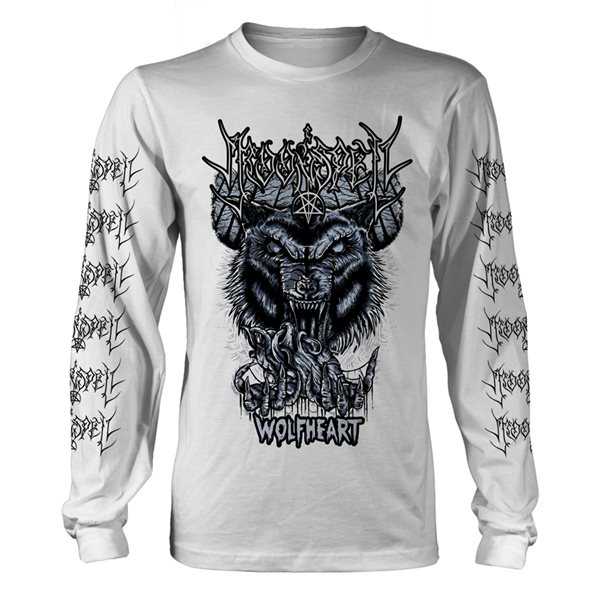 T-shirt Manches Longues Moonspell - Wolfheart (Blanc)