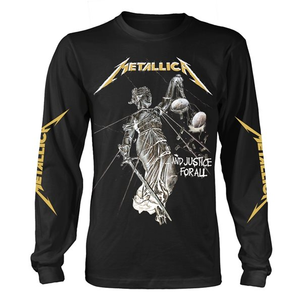 T-shirt Manches Longues Metallica - And Justice For All (Noir)