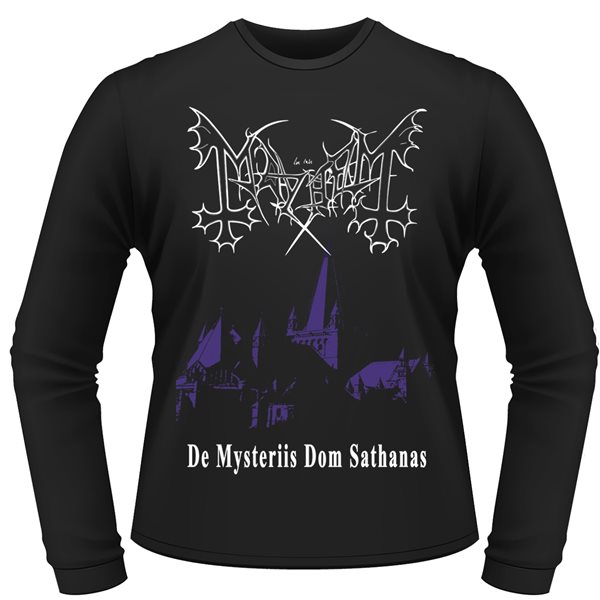 Maillot Manches Longues Mayhem DE MYSTERIIS DOM SATHANAS