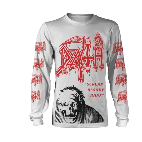 Maillot Manches Longues Death SCREAM BLOODY GORE