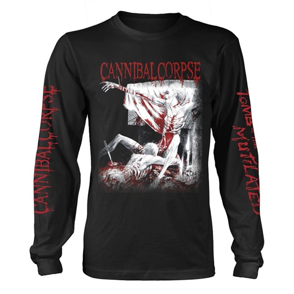 T-shirt Manches Longues Cannibal Corpse - Tomb Of The Mutilated (EXPLICIT)