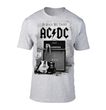 T-shirt AC/DC - In Rock We Trust (Gris)