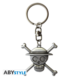 Porte-clés One Piece - 3D Skull Luffy