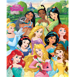 Poster Mini Disney: Princess - I Am A Princess (40X50 Cm)