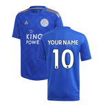 Maillot de football Leicester City F.C. Home 2019-2020 (Votre Nom)