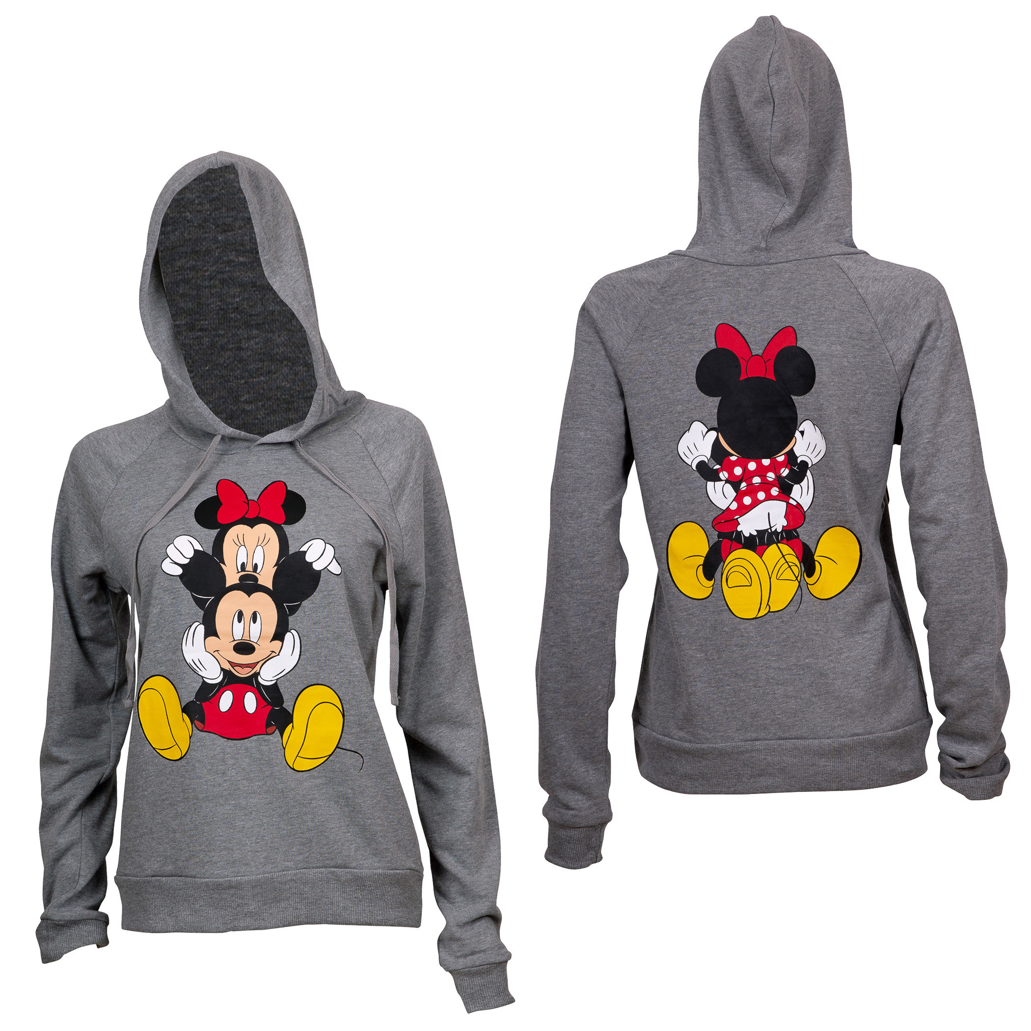 Sweat à capuche Mickey and Minnie