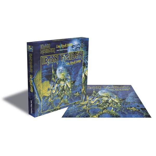 Puzzle Iron Maiden - Live After Death (500 Pièces Jigsaw PUZZLE)