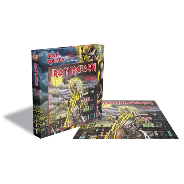 Puzzle Jigsaw Iron Maiden - Killers (500 Pièces)