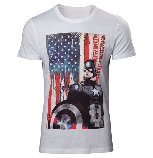 T-shirt Captain América  373481