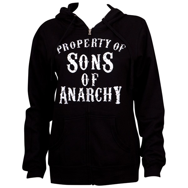 Sweat à capuche Sons of Anarchy pour femme