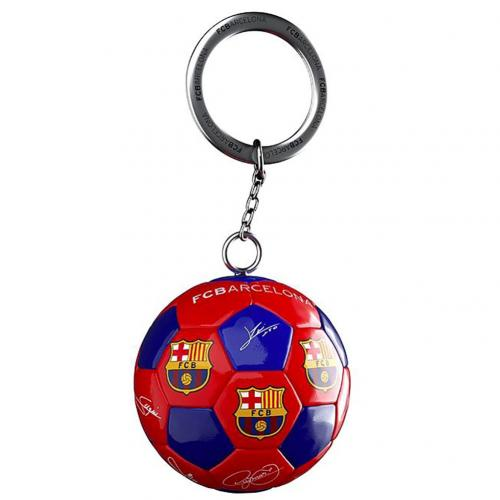 Porte-clés FC Barcelone - Ballon de Football Signature
