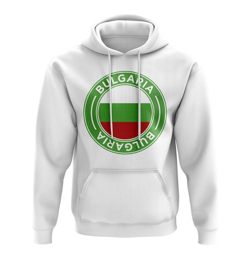 Sweat-shirt Bulgarie Football (Blanc)