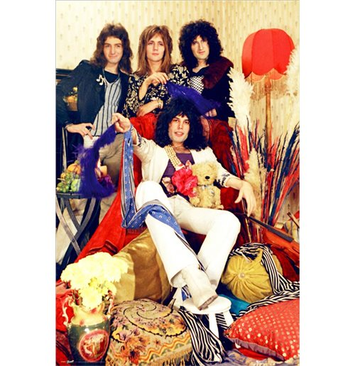 Poster Maxi Queen: Band (61x91,5 Cm)