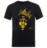T-shirt Notorious BIG: Biggie SMALLS: Gold Crown (Unisexe)