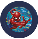 Assiette Plate Spider-Man - Graffiti