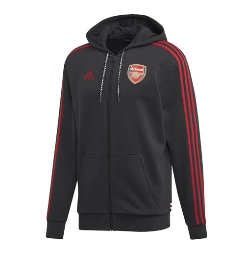 Sweat zippé Arsenal 2019-2020 (Noir)