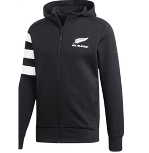 Sweat à Capuche All Blacks -3 Stripes