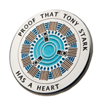 Épinglette Iron Man Proof Tony Has a Heart