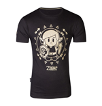 T-shirt NINTENDO Legend of Zelda Link's Awakening Tribal Link, Taille XXL