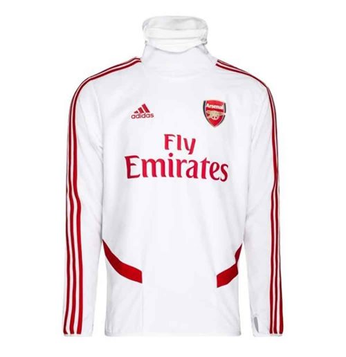 Sweat-shirt Arsenal 2019-2020 (Blanc)