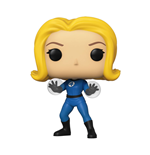 Fantastic Four POP! Marvel Vinyl figurine Invisible Girl 9 cm