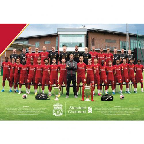 Poster Liverpool FC - Squad