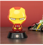 Marvel veilleuse 3D Icon Iron Man