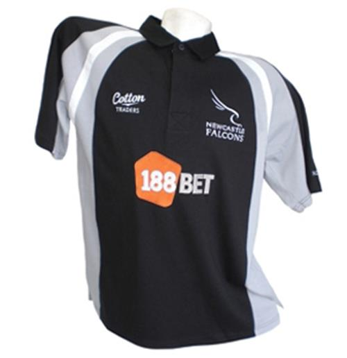 Maillot Newcastle Falcons Home 2011