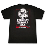 T-shirt ARROGANT BASTARD Ale You're Not Worthy