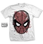 T-shirt Marvel Comics: Spidey Big Head Distressed