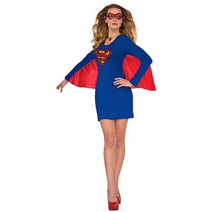 Robe Ailée Superman Supergirl - Costume