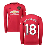 T-shirt Manches Longues Manchester United FC Home 2019/20