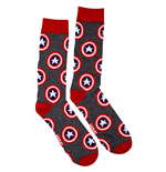 Chaussettes Captain America - Symbols All-Over